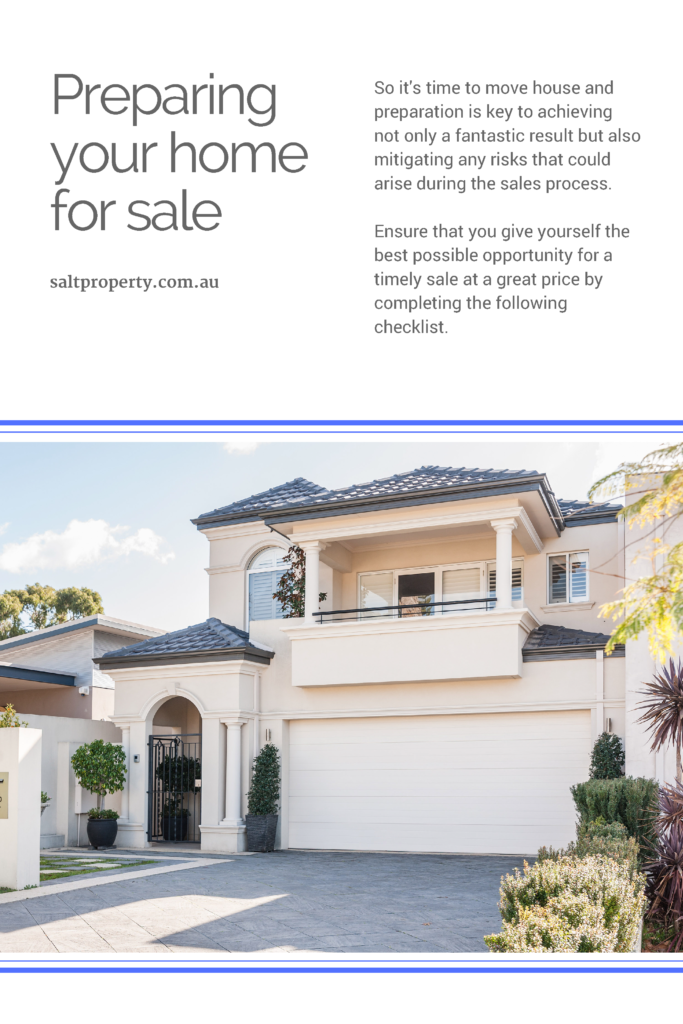 Preparing Your Home - Residential Selling